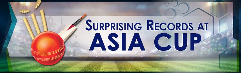 Surprising Records at Asia Cup