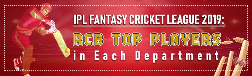 IPL Fantasy Cricket League 2019: RCB Top players in Each Department