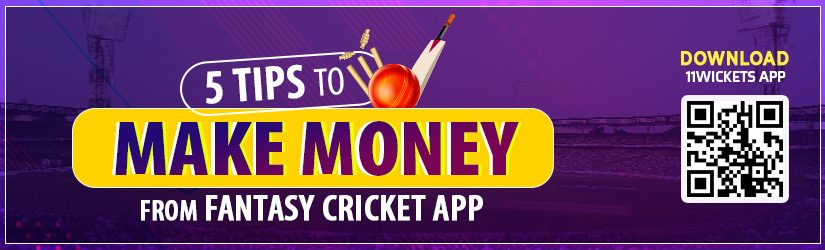 5 Tips to Make Money from Fantasy Cricket App