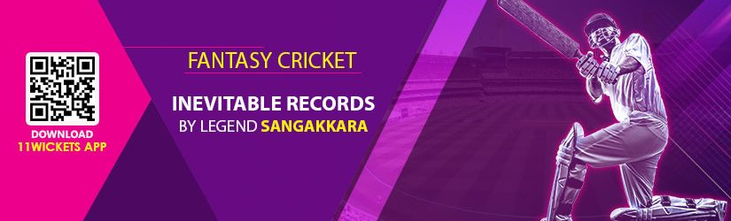 Fantasy Cricket – Inevitable Records by Legend Sangakkara