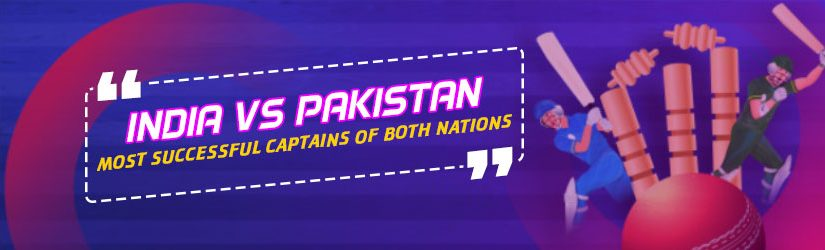 India Vs Pakistan Most Successful Captains of Both Nations
