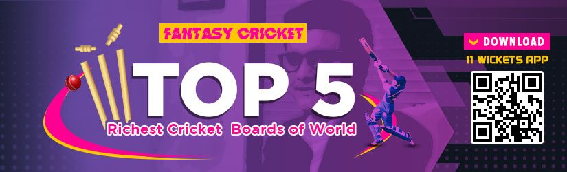 Fantasy Cricket – Top 5 Richest Cricket Boards of World