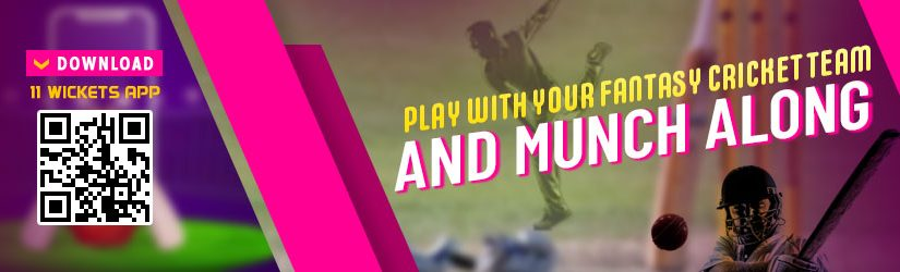 Play with your Fantasy Cricket Team and Munch Along