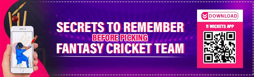 Secrets to Remember before Picking Fantasy Cricket Team