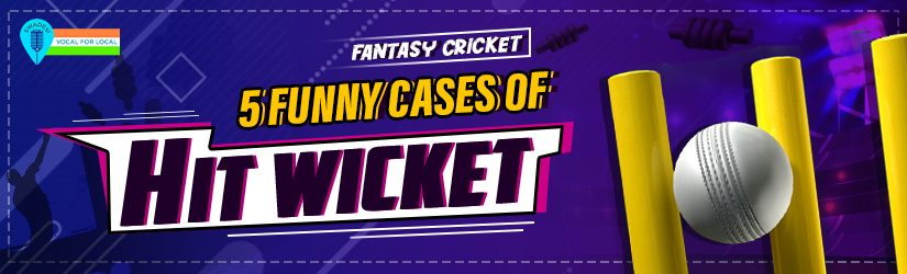 Fantasy Cricket – 5 Funny Cases of Hit Wicket