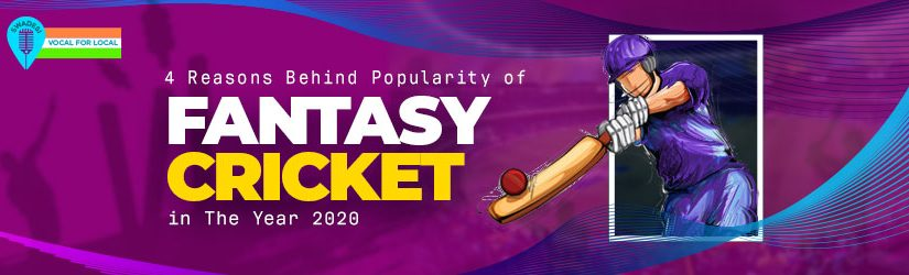 4 Reasons Behind Popularity of Fantasy Cricket in The Year 2020