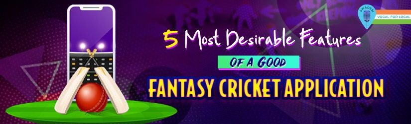 5 Most Desirable Features of a Good Fantasy Cricket Application