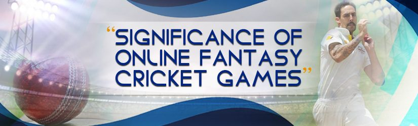 Significance of Online Fantasy Cricket Games