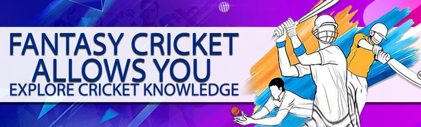 Fantasy Cricket Allows You Explore Cricket Knowledge