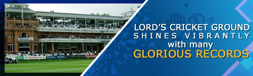 Lord's Cricket Ground Shines Vibrantly with Many Records