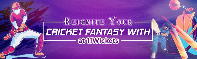 Reignite Your Online Cricket Fantasy with 11Wickets