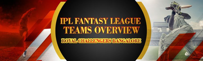 IPL Fantasy League Teams Overview – Royal Challengers Bangalore