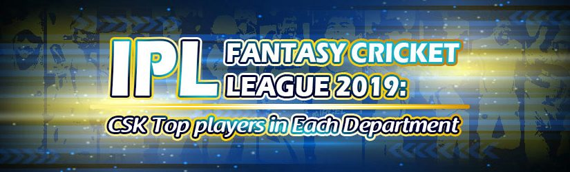 IPL Fantasy Cricket: CSK Top players in Each Department
