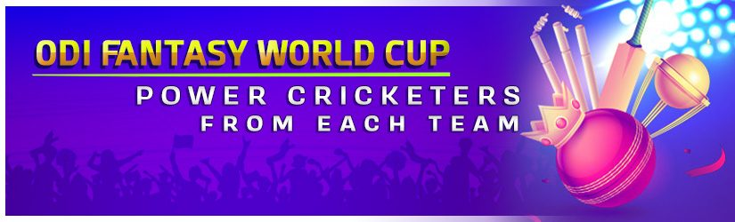 ODI Fantasy World Cup – Power Cricketers from Each Team
