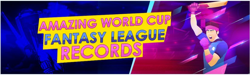 Amazing World Cup Fantasy League Records