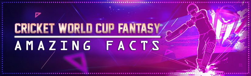 Cricket World Cup Fantasy – Amazing Facts