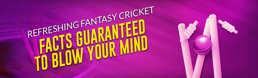 Refreshing Fantasy Cricket Facts Guaranteed to Blow your Mind