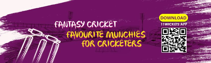 Fantasy Cricket – Favourite Munchies for Cricketers