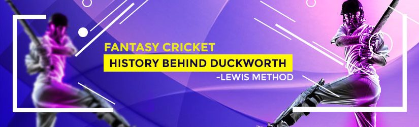 Fantasy Cricket – History behind Duckworth-Lewis Method