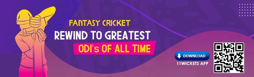 Fantasy Cricket – Rewind to greatest ODIs of all time