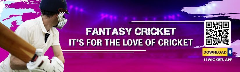 Fantasy Cricket – It's for the Love of Cricket