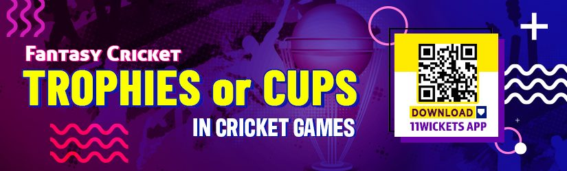 Fantasy Cricket – Trophies or Cups in Cricket World