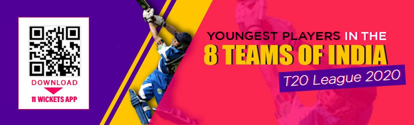 Youngest Players in the 8 Teams of India T20 League 2020