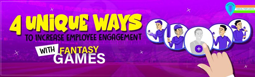 4 Unique Ways to Increase Employee Engagement with Fantasy Games