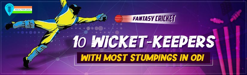 Fantasy Cricket History – 10 Wicket-keepers with Most Stumpings in ODI