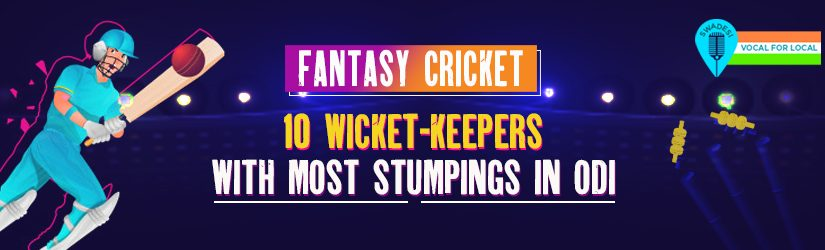 Fantasy Cricket – 10 Wicket-keepers with Most Stumpings in ODI
