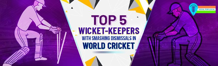 Top 5 Wicket-Keepers With Smashing Dismissals in World Cricket