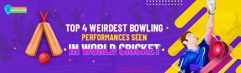 Top 4 Weirdest Bowling Performances Seen In World Cricket