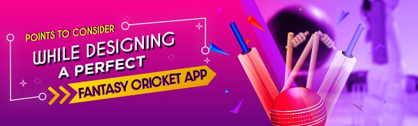 Points To Consider While Designing A Perfect Fantasy Cricket App