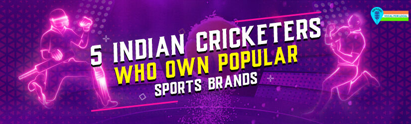5 Indian Cricketers Who Own Popular Sports Brands